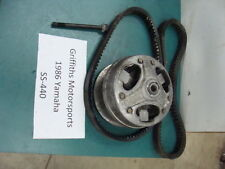 86 85 84 83 1986 80R YAMAHA SS440 OEM 440SS PRIMARY BELT DRIVE CLUTCH 407miles