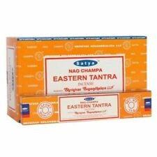 Satya Nag Champa Eastern Tantra Incense Sticks Agarbatti Pack oF 12 [Full Case]