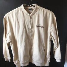 Mitchell & Ness Jacket Men's Size 64 5X Khaki Full Zip
