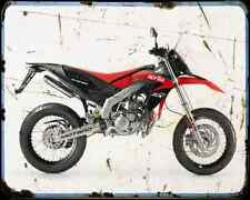 Aprilia Sx 50 13 02 A4 Metal Sign Motorbike Vintage Aged