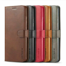 For Samsung Galaxy S21 Ultra S20 Plus S10 Note 20 Flip Cover Leather Wallet Case