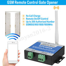 Wireless GSM Door Gate Opener Remote On/Off Switch Free Call SMS RTU5024