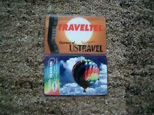 TK 2 Telefonkarten Traveltel Ballon und Telefon unbenutzt