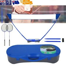 3 in 1 Portable Badminton Tennis Volleyball Net Set Outdoor Backyards Sports NEW