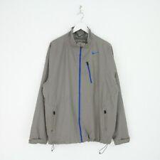 Mens Nike Golf Storm Fit Zip Through Lightweight Shell Golf Sports Jacket L Grey