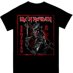 Iron Maiden - Senjutsu Distressed Logo Official Licensed T-Shirt