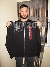 WWE FINN BALOR HAND SIGNED ADULT DEMON HOODIE WITH EXACT PICTURE PROOF & COA 5