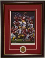 Alabama 2011 Championship Restoring the Order framed print & coin Daniel Moore