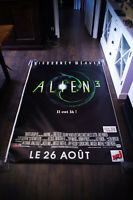 ALIEN 3 4x6 ft Bus Shelter Vintage Movie Poster Original 1992