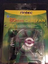 Antec Pro Series 80mm Case Fan Ball Bearing  3-Pin/4-Pin  Power  PRO80mmfan