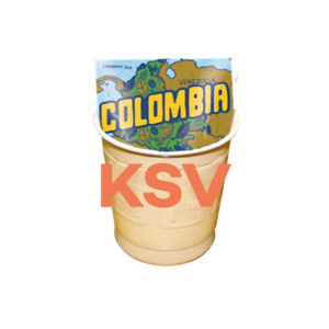 Colombian Coffee White In-Cup 300 Drinks