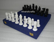 "3 1//8/"" QUEEN black chess piece 2.3oz weighted quality plastic Excalibur"