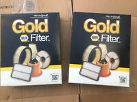 Two 2488 napa gold air filters Lot Of 2