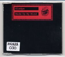 Gladys Maxi-CD Made Up My Mind (Remixed By Frankie Knuckles) - German 4-track
