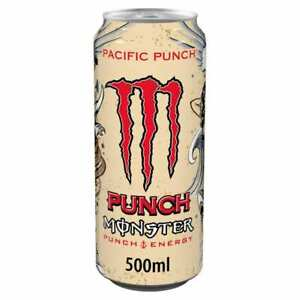 MONSTER Pacific Punch Energy Drink 500ml 16.9 fl oz