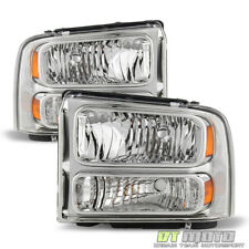 2005-2007 Ford F250 F350 F450 F550 Super duty Headlights Left+Right 05 06 07