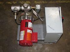 FIRETROL 1B50C MINIBOOSTER FIRE PUMP SYSTEM W/ ITT 30-21T 1AM053 PUMP & CONTROL