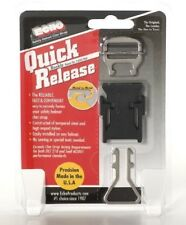 NEW BLACK ECHO QUICK RELEASE BUCKLE Motorcyle MX ATV Helmet Chin Strap Easy Clip