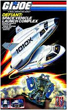 Hasbro 1987 G.I. Joe Defiant Space Vehicle Launch Complex Poster Print 🔥😎🔥