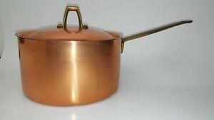 Revere Ware 1801 Limited Edition Copper Sauce Pan/Lid 2Qt. (RW-15)Cart