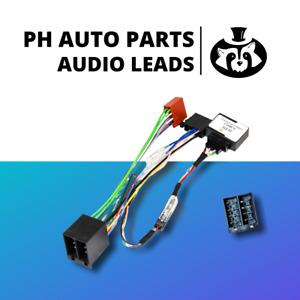 Fiat Punto, Grande Punto and Punto Evo CAN BUS Radio harness / ISO adaptor lead
