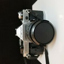Canon Ae-1 Program 35mm Slr Camera Body w/ Fd 50mm F1.8 Lens and other lenses