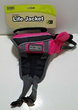 Pet Saver Life Jacket Dogs Pink XXSmall Fully Adjustable Straps OutwardHound