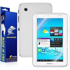 ArmorSuit MilitaryShield Samsung Galaxy Tab 2 7.0 Screen + White Carbon Fiber!