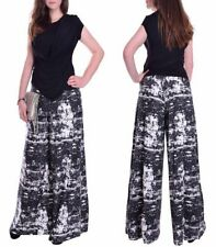 Chiffon Wide Leg Other Casual Trousers for Women