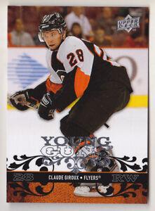 08-09 Upper Deck Claude Giroux Young Guns Rookie Flyers 2008