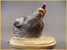 DURSO figurine, sanglier, trophée de vénerie,composition belge (antique toys)