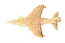RAF Hawker Siddeley Harrier Pin Badge Hand Made in Gold Plated English Pewter