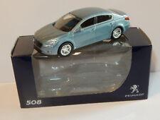 Norev 3 inches 1/54 Peugeot 508 Bleu clair Metal 1 seule À vendre