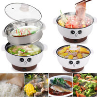 2.8L Electric Cooker Skillet Wok Hot Pot For Cook Rice Fried Noodles Stew Soup
