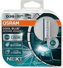 D3S XENARC COOL BLUE INTENSE NextGen. 6200K 150 2St OSRAM 12V24V 35W PK32d-5