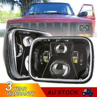 "7x6"" 5X7"" LED Headlight Hi/Lo Beam for For GMC Chevy Express Jeep Cherokee XJ YJ"