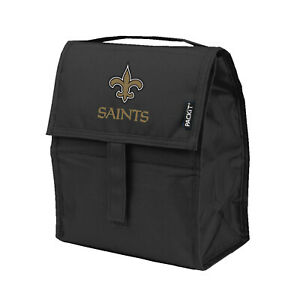 NEW ORLEANS SAINTS, INCREDIBLE FREEZABLE LUNCH BAG/TOTE FROM KOLDER/PACKIT