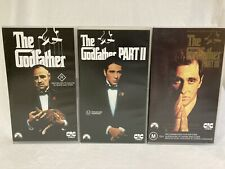 THE GODFATHER COLLECTION 1, 2 AND 3 VHS