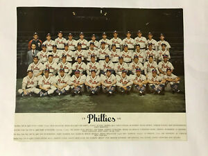 1946 Original Philadelphia Phillies Team Photo in Excellent Condition