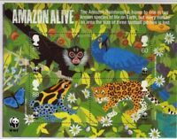 GB 2011 Commemorative Stamps~World Wildlife (WWF)~ M/S~Unmounted Mint Set~UK