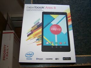 Nextbook Ares 8 Ares 8 16GB, Wi-Fi, 8in - Black -Open Box