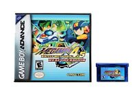 Megaman Battle Network 4.5 ENGLISH Gameboy Advance GBA - Rockman Real Operation