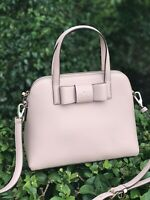 NWT Kate Spade Robinson Street Maise Leather Satchel warmvellum $298