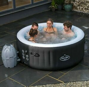 Bestway Lay-Z Spa Miami Inflatable Portable Hot Tub - Blue (Price Reduced).