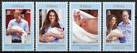 St Helena Royalty Stamps 2013 MNH Prince George Royal Baby William & Kate 4v Set