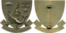 CAMEROUN, Fusiliers Marins, Honneur et Fidélité ,insigne BERET COMMANDO (10006)