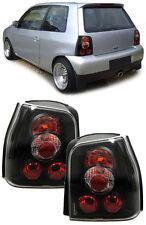 BLACK REAR BACK LIGHTS FOR VW LUPO & SEAT AROSA NICE GIFT LUPAROSBLK