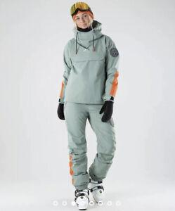 Ladies Size 6 Dope Faded Green Snow Ski Snownoard Set Jacket And Ski Pants Vgc
