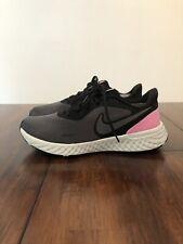 New listing Nike Revolution, Men's Tennis Shoe, Black, Gray /Pink White, Size 11 EUR 43