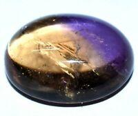 28.35 Ct Natural Bi-Color Bolivia Ametrine Cabo Transparent Certified Gemstone